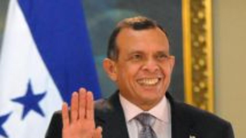 El presidente de Guatemala, Porfirio Lobo.