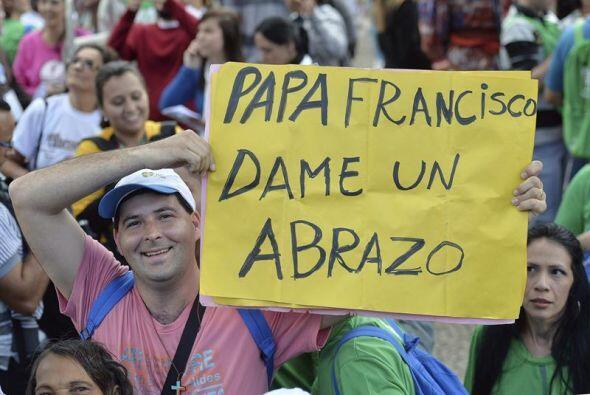 El Sumo Pontífice regresó a Río de Janeiro tras la...