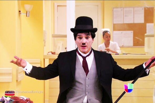 Nunca olvidaremos tu bondad, eres el verdadero Chaplin de la felicidad.