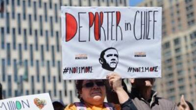 El alto número de deportaciones desde 2009 llevó a que las organizacione...