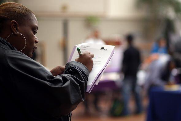 La tasa de desempleo en Estados Unidos cayó de forma espectacular en abr...