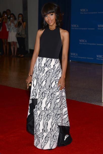 "Kerry Washington de ""Scandal""Mira aquí los videos m&aac..."