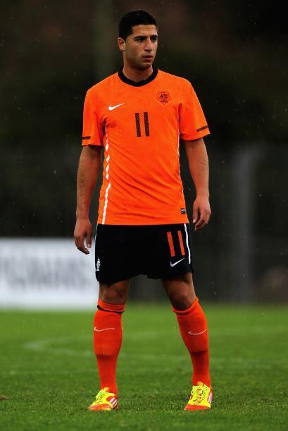 Una joven promesa se metió como hombre de área, el holandés Ninos Gouriy...