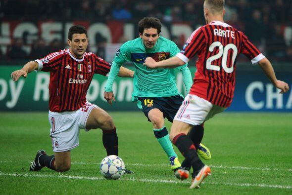 El Barcelona, vigente campeón, visita al Milan italiano en el partido es...