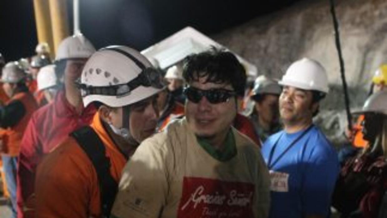 Los mineros y sus primeros momentos