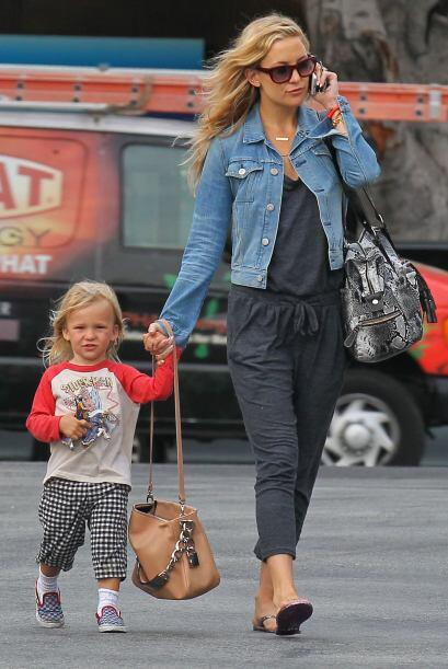 ¡Otra 'celeb' que disfruta al máximo ser madre y actriz las 24 hrs. del...