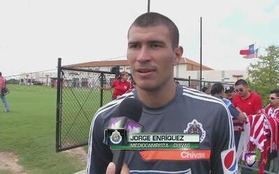"""Jorge Enríquez: """"Chivas es un equipo grande que enfrenta a equipos grandes"""""""