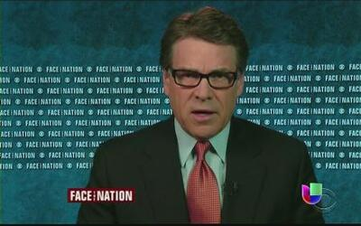 Rick Perry pidió el envío de la guardia nacional a la frontera