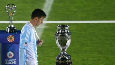 El argentino en la final de la Copa América