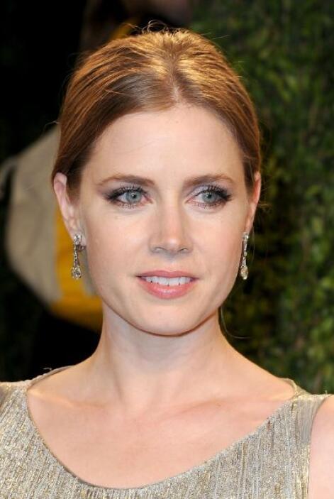 Amy Adams siempre se muestra muy natural en su maquillaje, pero eso no f...