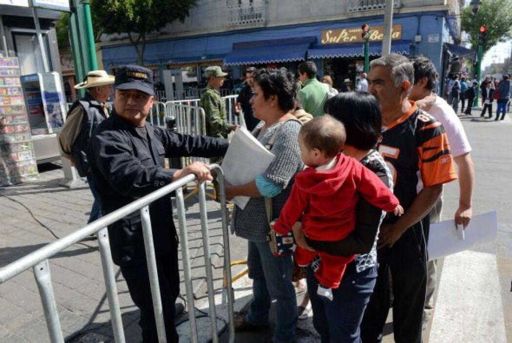 La vida cotidiana de los habitantes de Toluca se ha visto paralizada dur...