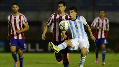 La selección albiceleste sacó una importante victoria ante los guaraníes...