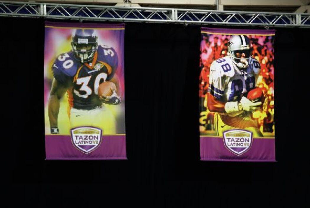 Las leyendas, desde Terrell Davis hasta Michael Irvin, estaban bien repr...