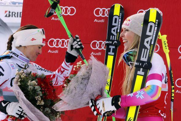 Moser-Proell, estrella del esquí austríaco, fijó la...