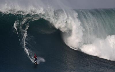 Nazaré: una máquina de olas con la que sueñan los surfistas