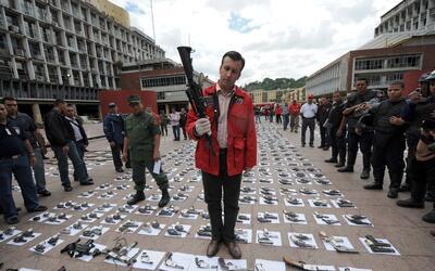 Tareck El Aissami fue ministro de Interior y Justicia de Hugo Chá...