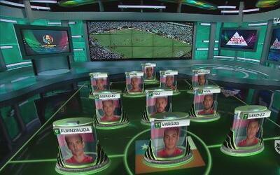 Este será el once inicial de Chile para la final de la Copa América Cent...
