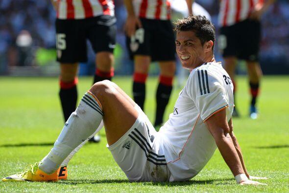Cristiano quería ampliar su cuenta goleadora, pero tampoco mostraba la i...