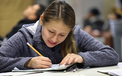 Hispanic students have lower proficency in reading and math.