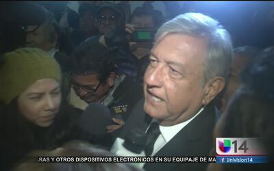 Andrés Manuel López Obrador realiza gira a favor de los inmigrantes