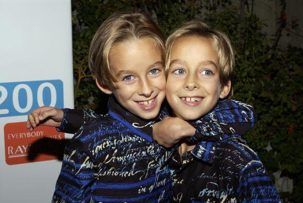El chico, junto a su gemelo Sullivan, salió en el popular program...