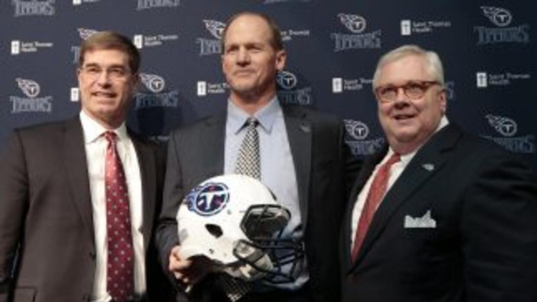 Ken Whisenhunt tenía muchas razones para elegir a los Titans (AP-NFL).