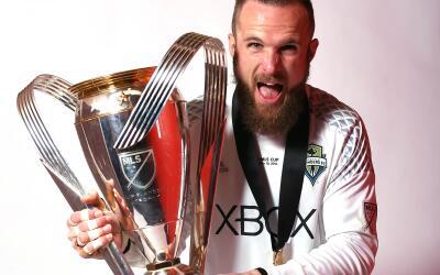 Stefan Frei con la MLS Cup