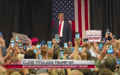 Universidad en Georgia tiene una clase titulada Trump 101