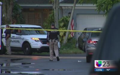 Presunto caso de violencia doméstica termina en tiroteo