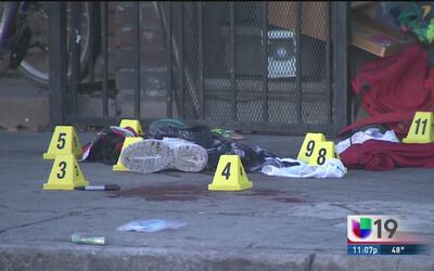 Otra balacera mortal en Stockton