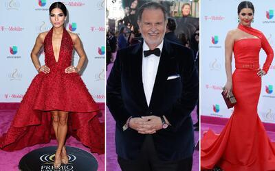 Talento de Univision llegó a Premio Lo Nuestro 2017