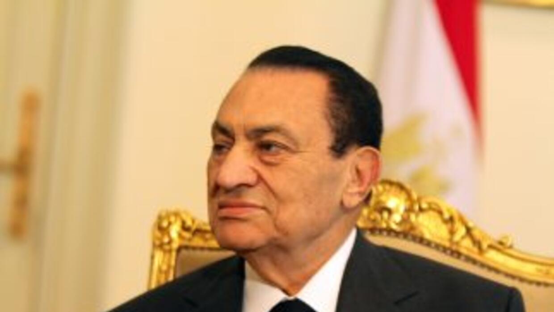 El ex presidente de Egipto, Hosni Mubarak.
