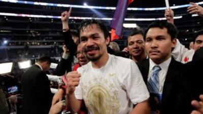 Manny Pacquiao tendría en su agenda a Andre Berto o Shane Mosley para el...