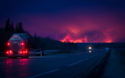 Canada fire