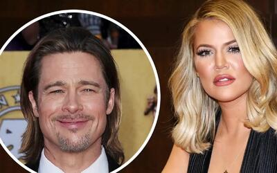 A Khloé Kardashian le gusta Brad Pitt