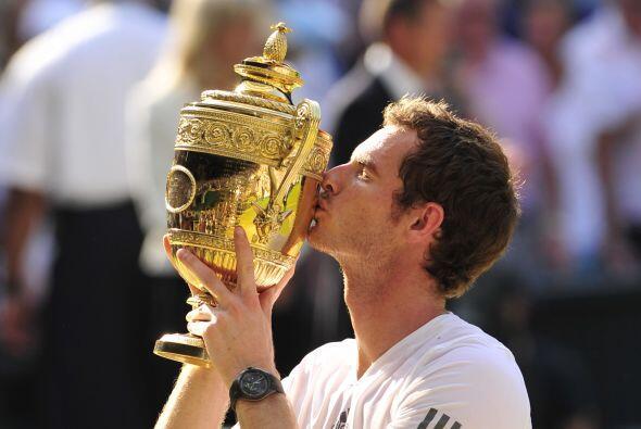 Andy Murray tocó el cielo con las manos al vencer a Novak Djokovic para...