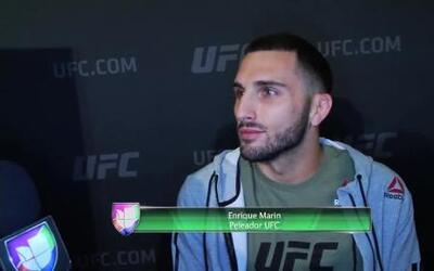 Enrique 'Wasabi' Marín, el español tras la conquista de UFC