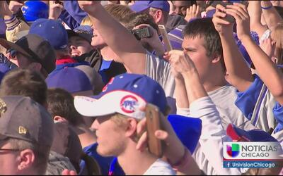 Secuelas por el festejo de los Cubs