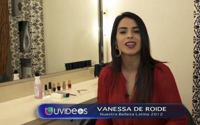 Vanessa de Roide dio sus secretos para uñas sanas y bellas en ésta Navidad