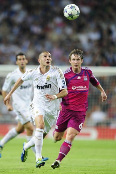 Karim Benzema compartió la dupla de ataque con Cristiano Ronaldo...