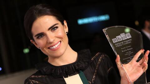 La actriz mexicana Karla Souza ganó el premio de la Coalici&oacut...