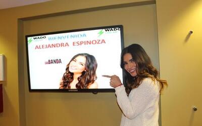 Durante su visita a Nueva York, Alejandra Espinoza llegó a compartir de...