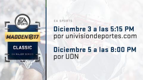 Madden 17 Championship Series on Univision Deportes