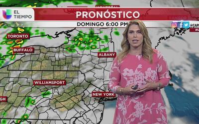 Pronóstico del tiempo: este domingo 30 de abril el área triestatal prese...