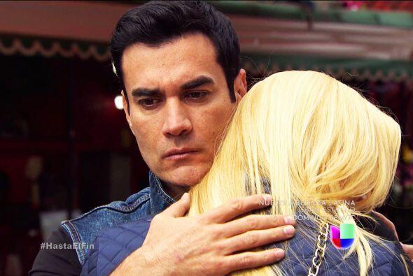 Por lo pronto, refúgiate en los brazos de Salvador, ya ver&aacute...