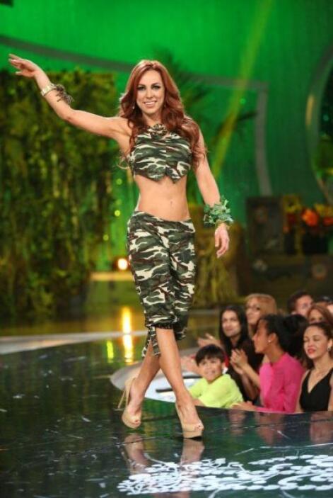 Una de las que más gustó a los jurados fue Prissila Sánchez.