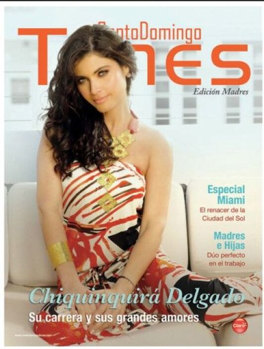 Chiquinquirá Delgado, también fue portavoz de la revista 'Santo Domingo...