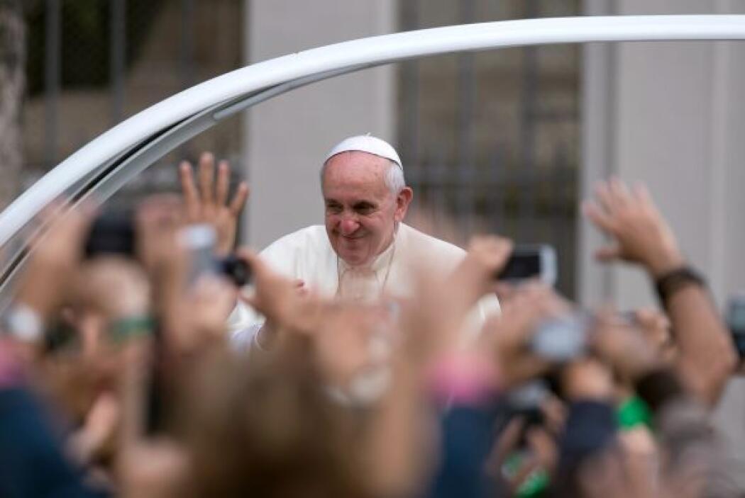 Francisco, sin agenda oficial este martes, celebró una misa en una capil...
