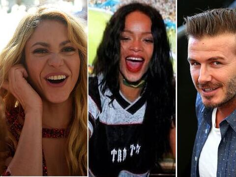 Shakira, Rihanna, Beckham con sus hijos, Tom Brady y Gisele... ¡Mi...