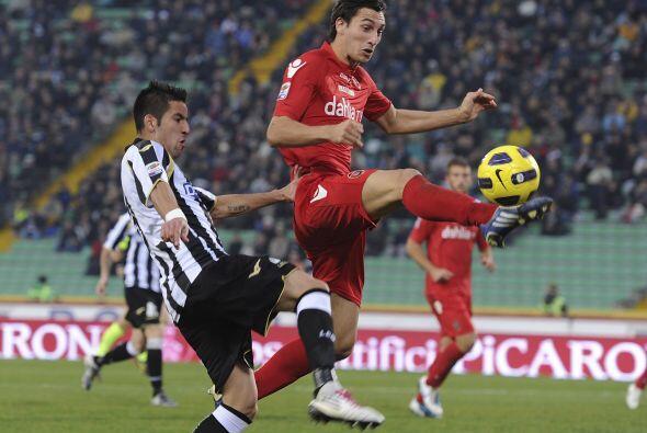 En duelos que resultaron con empate, primero el Udinese igualó 1-...